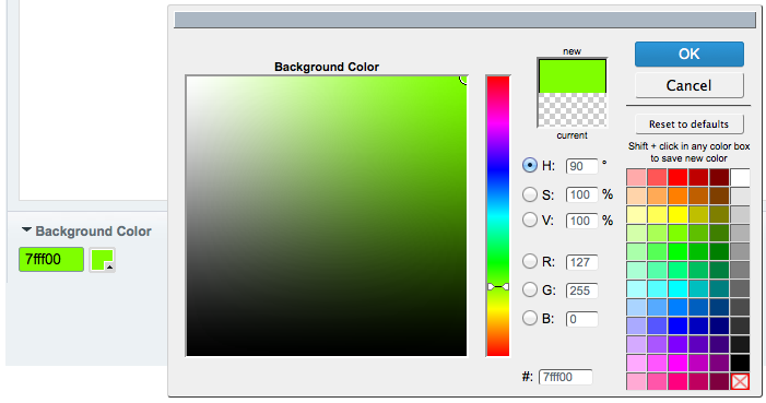 Introduction. This is a simple ColorPicker ...