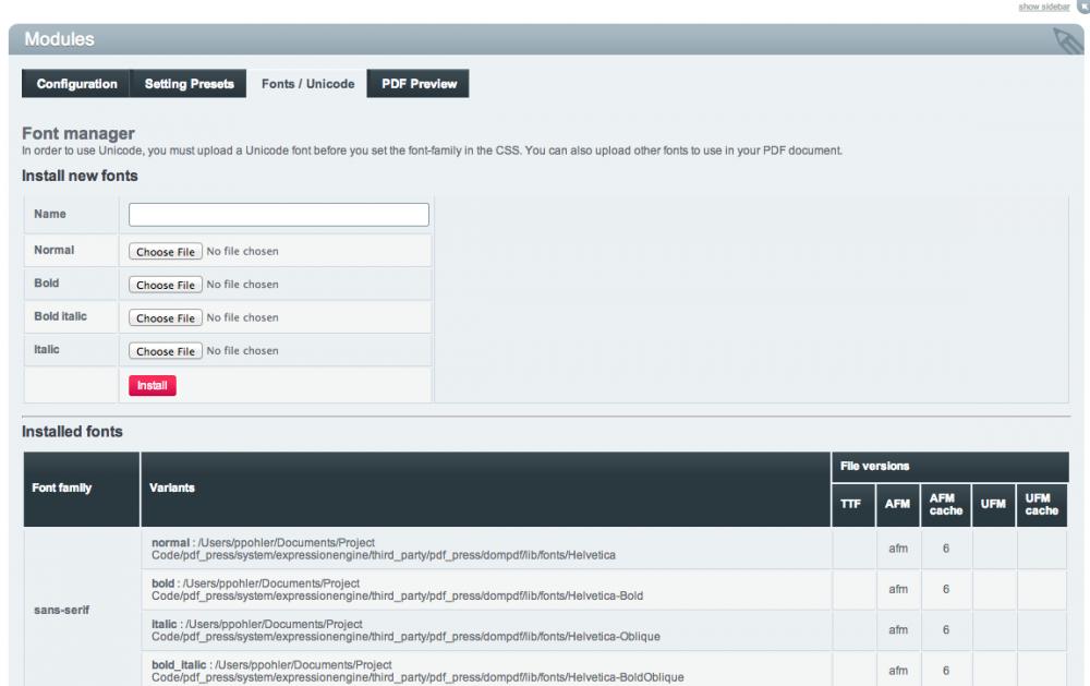 PDF Press (5-Site License) - devot:ee - Devoted to ExpressionEngine