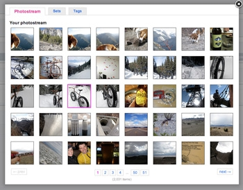 Browser Full The Flickr Fieldtype Allows You To Create Custom Field Allowing Your Users Browse Their Photos And Embed Them Into Entries