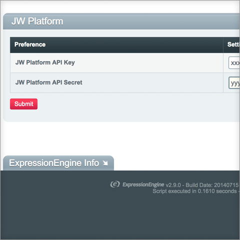 JW Platform - devot:ee - Devoted to ExpressionEngine