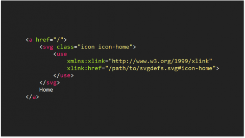...instead of convoluted, hard-to-remember SVG XML.