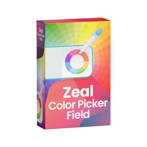 Zeal Color Picker Field