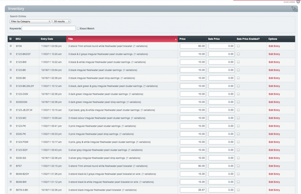 Store : Custom Inventory Columns - devot:ee - Devoted to ...