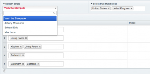 Publish Page and Multi MX Select Plus
