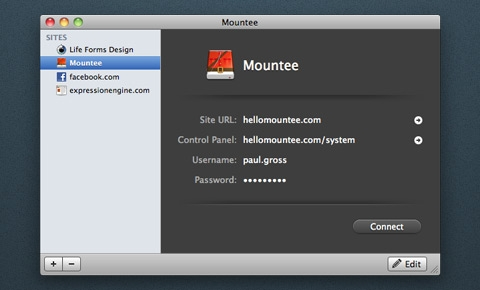 The new Mountee 2 app interface