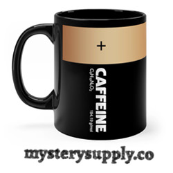 Caffeine Battery Coffee Mug