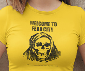 Welcome to Fear City NYC T-Shirt - Mystery Supply Co.