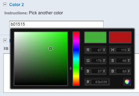 MD Color Picker